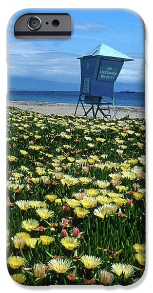 Spring Break Santa Barbara iPhone Case by Kathy Yates