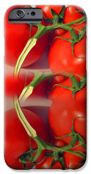 Meadow Photographs iPhone Cases - spring California tomatoes iPhone Case by Tina M Wenger