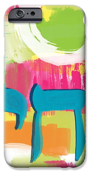Shower iPhone Cases - Spring Chai iPhone Case by Linda Woods