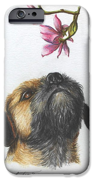 Breeder iPhone Cases - Spring iPhone Case by Daniele Trottier