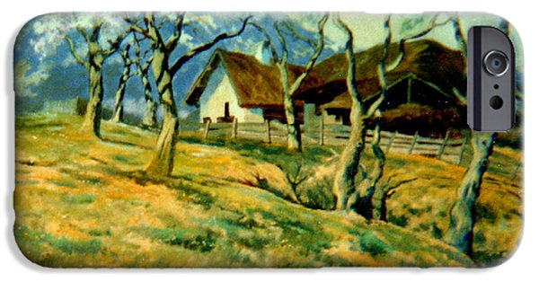 Shed iPhone Cases - Spring in Poland iPhone Case by Henryk Gorecki