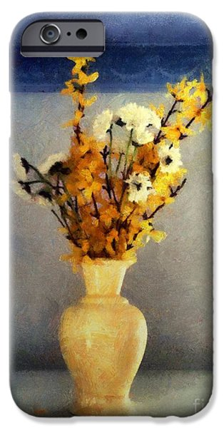 Botanical iPhone Cases - Spring Spice iPhone Case by RC deWinter