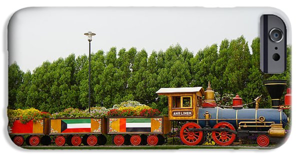 Miracle iPhone Cases - Spring Train iPhone Case by Sheela Ajith