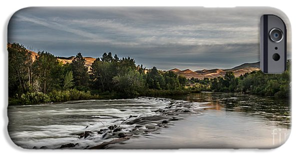 Emmett iPhone Cases - Spring View Of The Payette River iPhone Case by Robert Bales