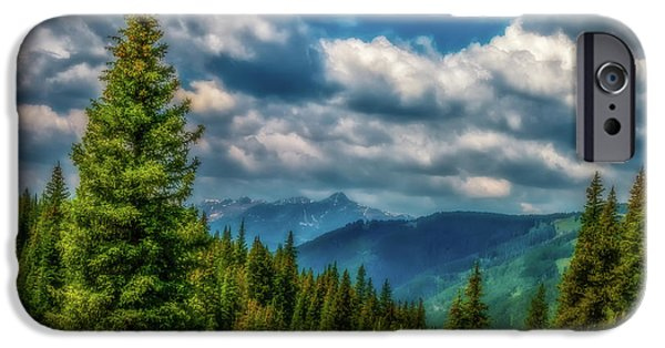 Springtime In The Park iPhone Cases - Springtime in the Rockies iPhone Case by Jon Burch Photography