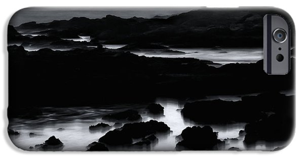 Sea Birds iPhone Cases - Squadron of Pelicans At Dusk iPhone Case by Lawrence Knutsson