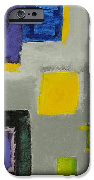 Squares iPhone Case by Katie OBrien - Printscapes
