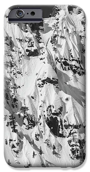 Powder iPhone Cases - Squaw Valley Forbidden Fruit iPhone Case by Dustin K Ryan