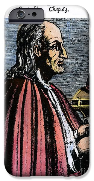 11th iPhone Cases - St. Anselm Of Canterbury iPhone Case by Granger