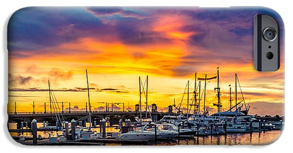Beach iPhone Cases - St Augustine Dawn iPhone Case by Jim DeLillo