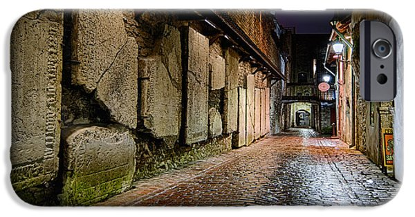 Night Lamp iPhone Cases - St. Catherines Passage iPhone Case by Eduard Gorobets