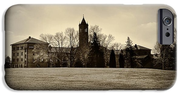 Reform iPhone Cases - St. Gabriels Hall - Monkey Hall iPhone Case by Bill Cannon