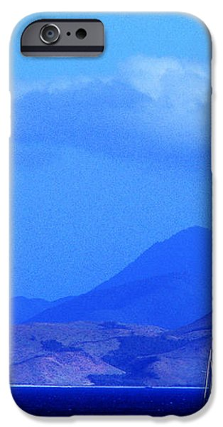 St Kitts Sailboats iPhone Case by Thomas R Fletcher