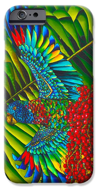 St. Lucia's Bird of Paradise iPhone Case by Daniel Jean-Baptiste