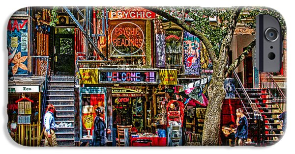 Recently Sold -  - East Village iPhone Cases - St Marks Place iPhone Case by Chris Lord