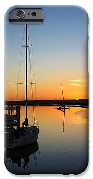 St. Mary's Sunset iPhone Case by M J Glisson