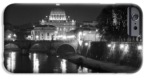 St Photographs iPhone Cases - St. Peters at Night iPhone Case by Donna Corless