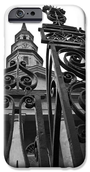 St Photographs iPhone Cases - St. Philips Church  iPhone Case by Dustin K Ryan