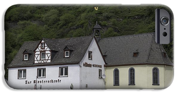 Weathervane Photographs iPhone Cases - St Sebastian Church Ehrenthal Germany iPhone Case by Teresa Mucha