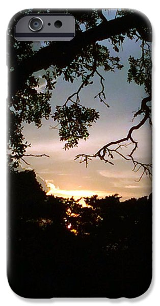July iPhone Cases - St Simons Sunset iPhone Case by Raymel Garcia