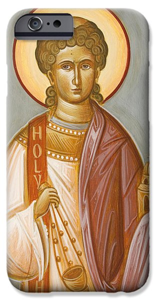 St Stephen II iPhone Case by Julia Bridget Hayes