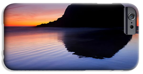 Oregon Coast iPhone Cases - Stack Reflections iPhone Case by Mike  Dawson