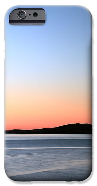 Abstract Seascape iPhone Cases - Staffin Sunset iPhone Case by Grant Glendinning