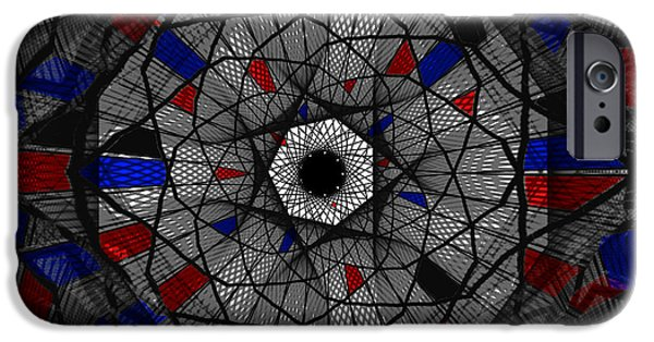 Shape iPhone Cases - Stained Glass Window iPhone Case by Kathleen Sartoris