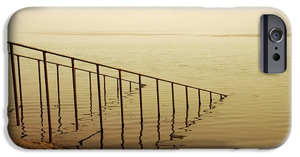 Baghdad iPhone Cases - Stairs to Nowhere iPhone Case by Kimberly Millett