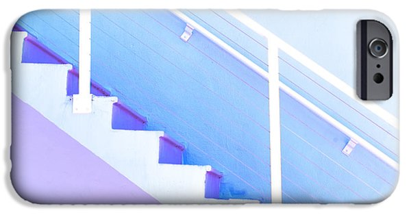 """""""geometric Abstract"""" iPhone Cases - Stairway iPhone Case by Juli Scalzi"""