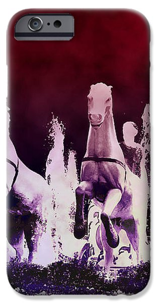 Stampede iPhone Case by Bill Cannon