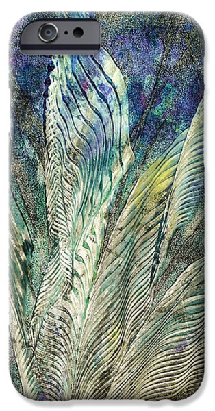 Printmaking iPhone Cases - Standing Proud iPhone Case by Laura L Leatherwood