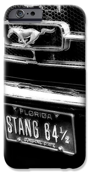 Stang iPhone Case by Kenneth Krolikowski