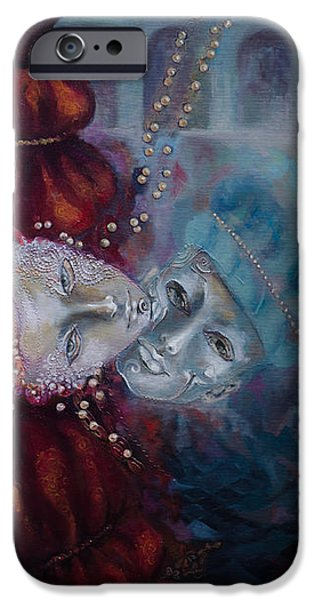 Mean iPhone Cases - Star-Crossed Lovers iPhone Case by Dorina  Costras