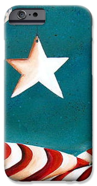 Star Spangled iPhone Case by Cindy Thornton