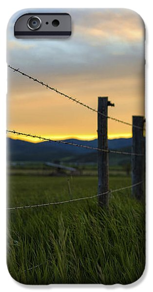 Star Valley iPhone Case by Chad Dutson
