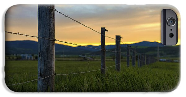 Farm iPhone Cases - Star Valley iPhone Case by Chad Dutson