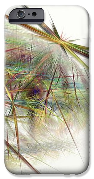 Gina Lee Manley iPhone Cases - Starburst iPhone Case by Gina Lee Manley