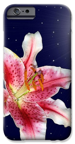 Stargazing iPhone Cases - Stargazing iPhone Case by Kristin Elmquist