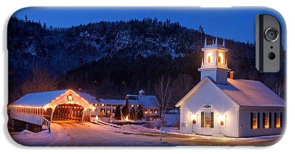 Recently Sold -  - Covered Bridge iPhone Cases - Stark iPhone Case by Robert Clifford