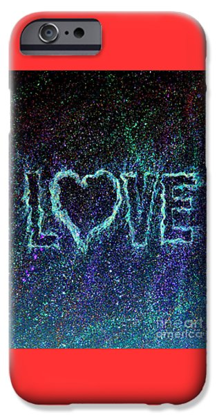 Puppies Digital Art iPhone Cases - Starry Eyed Love iPhone Case by Bill Holkham