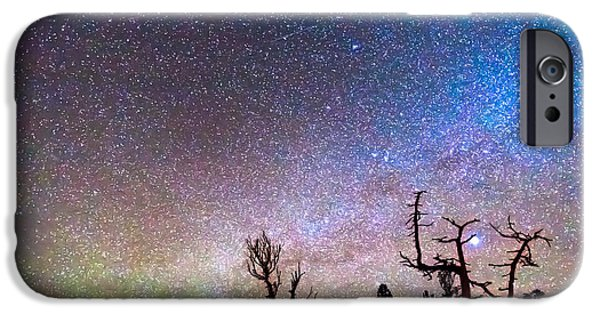 Stellar iPhone Cases - Starry Universe iPhone Case by James BO  Insogna
