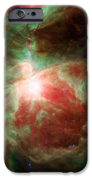 Stellar iPhone Cases - Stars Adorn Orions Sword iPhone Case by Eric Glaser