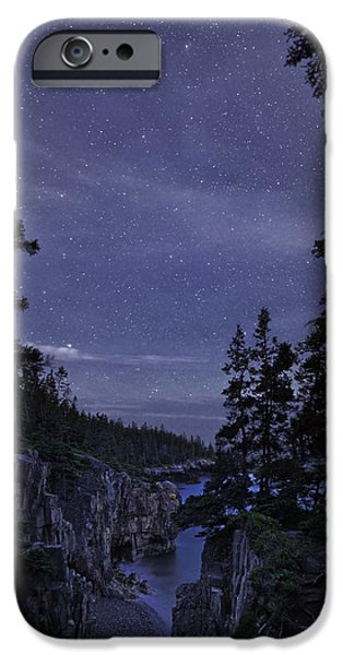 Recently Sold -  - Maine iPhone Cases - Stars Over Ravens Roost iPhone Case by Brent L Ander