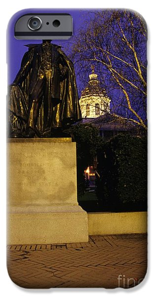 Concord iPhone Cases - State Capitol Building - Concord New Hampshire USA iPhone Case by Erin Paul Donovan