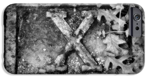 Holy Week iPhone Cases - Station 10 BW - San Juan Capistrano iPhone Case by Stephen Stookey
