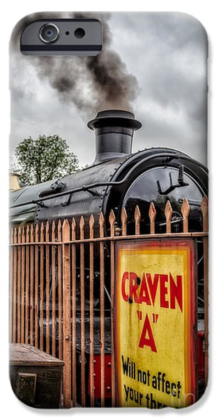 Sign-writing iPhone Cases - Station Signs iPhone Case by Adrian Evans