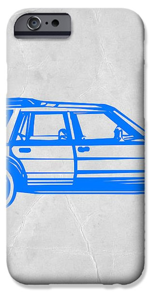 Station Wagon iPhone Case by Naxart Studio