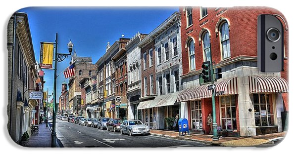 City Scape iPhone Cases - Staunton Virginia iPhone Case by Todd Hostetter