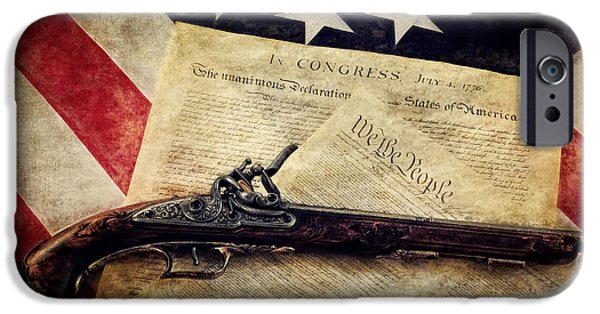 Constitution iPhone Cases - Stay the Course iPhone Case by Ken Smith